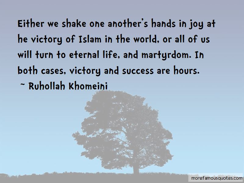 Ruhollah Khomeini Quotes Pictures 2