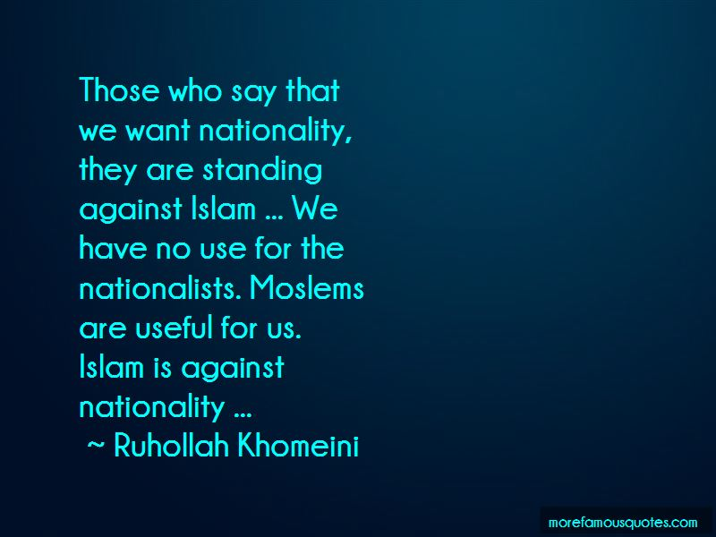 Ruhollah Khomeini Quotes