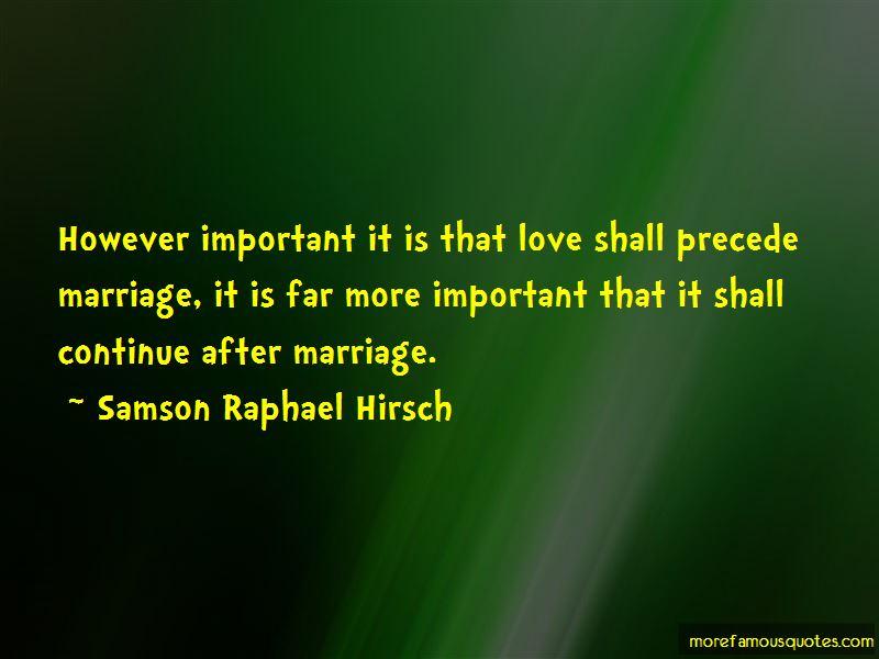 Samson Raphael Hirsch Quotes