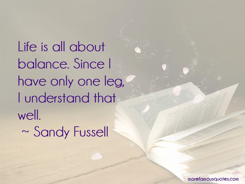 Sandy Fussell Quotes Pictures 3