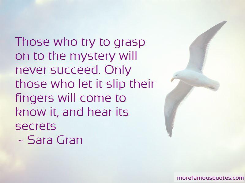 Sara Gran Quotes Pictures 2