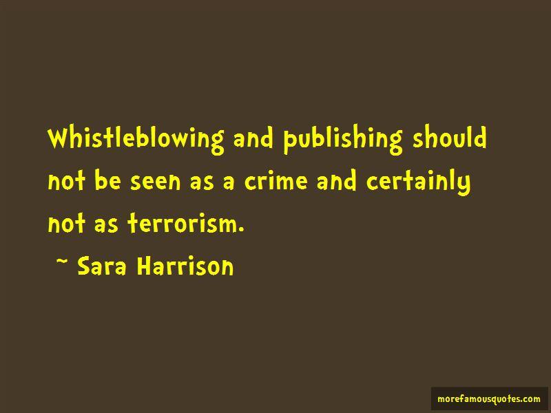 Sara Harrison Quotes Pictures 3