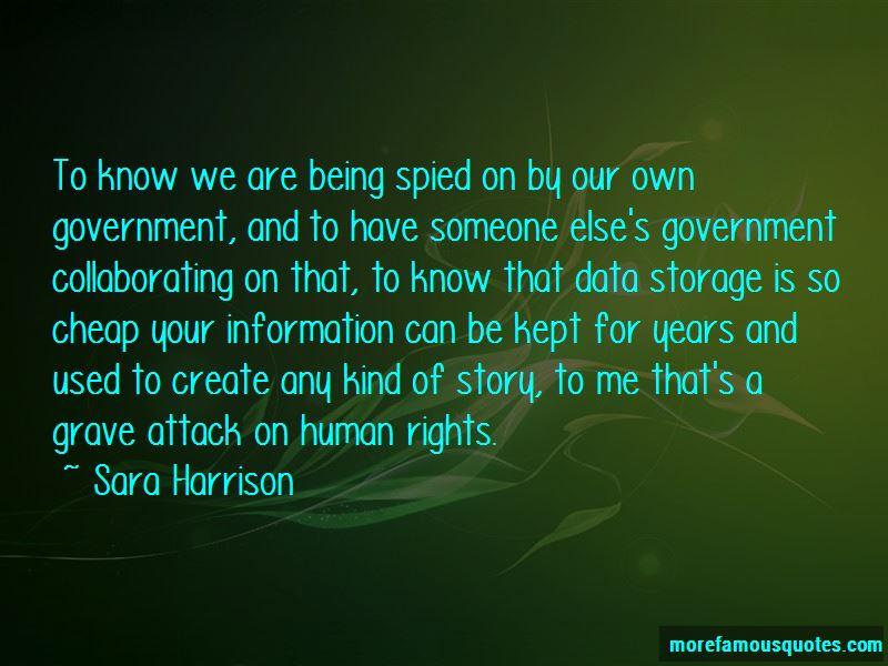 Sara Harrison Quotes Pictures 4