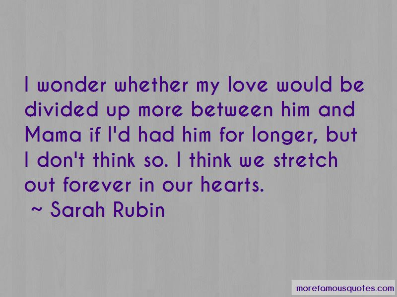 Sarah Rubin Quotes Pictures 2