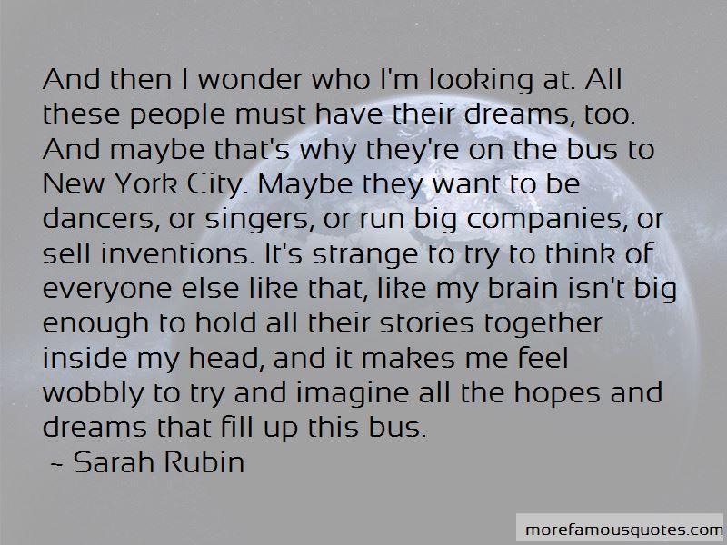 Sarah Rubin Quotes