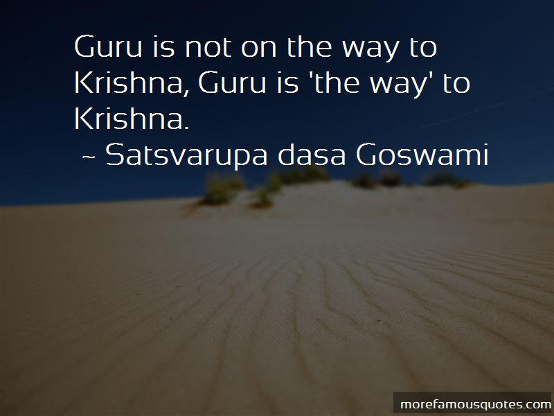 Satsvarupa Dasa Goswami Quotes