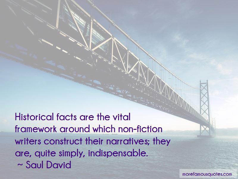 Saul David Quotes