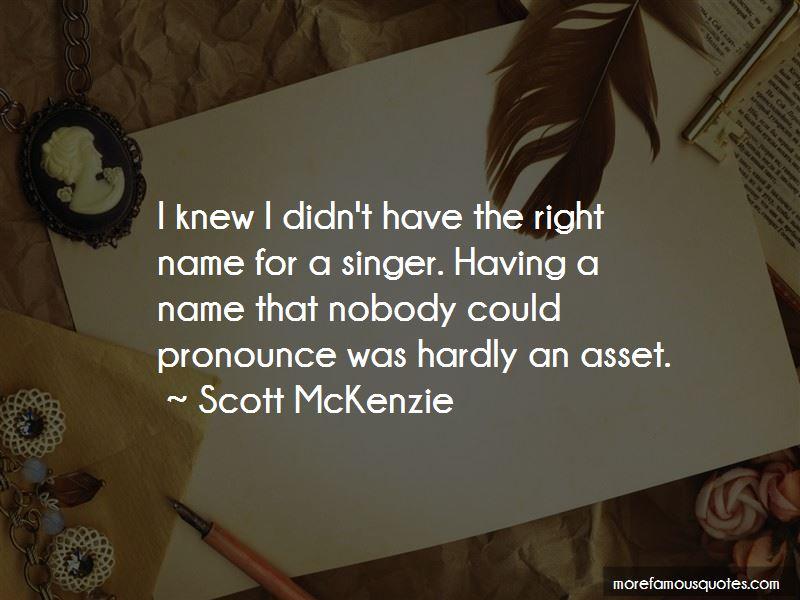 Scott McKenzie Quotes Pictures 2