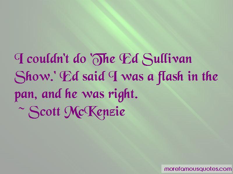 Scott McKenzie Quotes