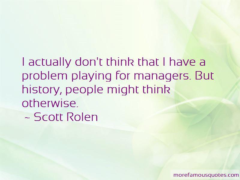 Scott Rolen Quotes