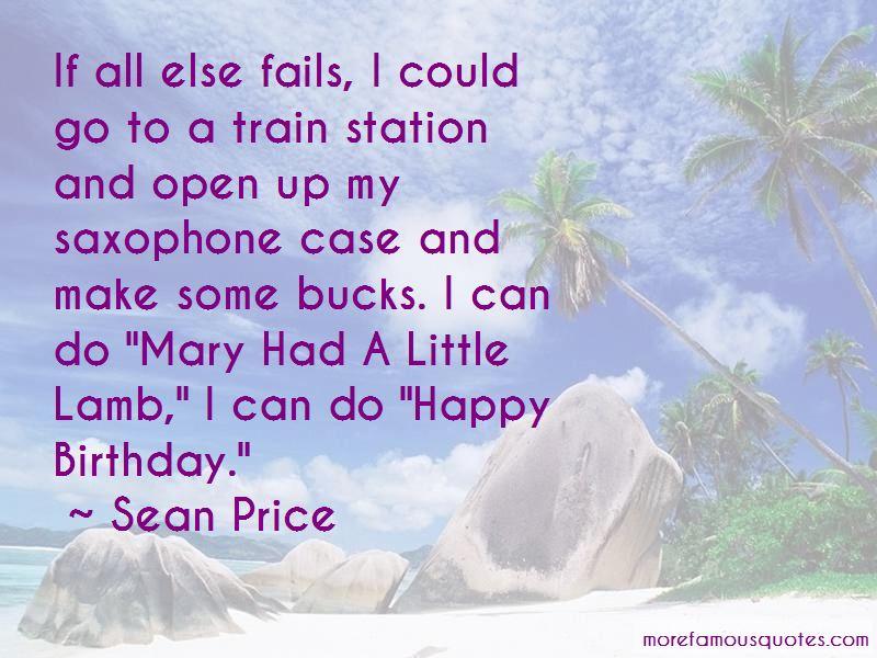 Sean Price Quotes