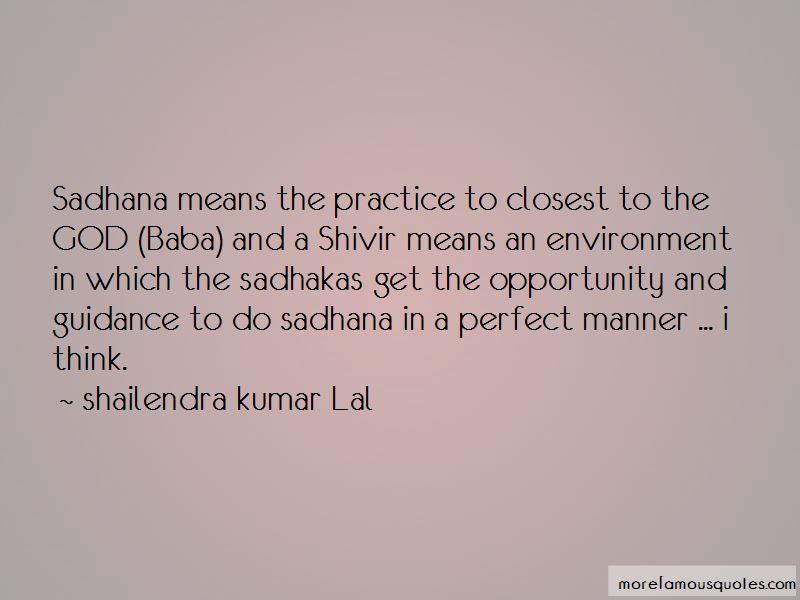 Shailendra Kumar Lal Quotes