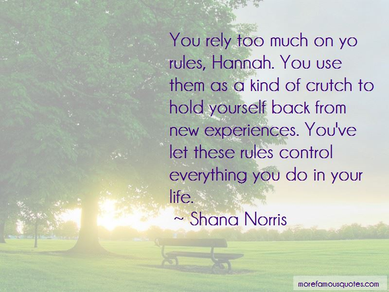 Shana Norris Quotes Pictures 3
