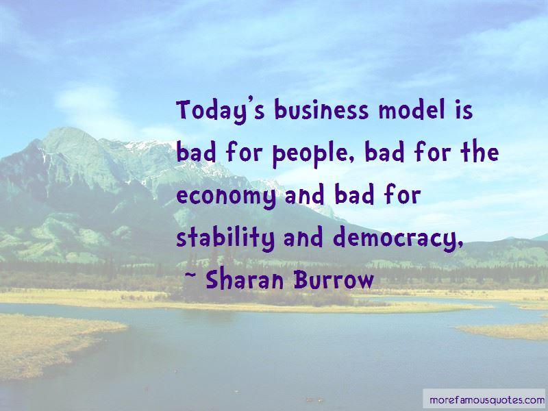 Sharan Burrow Quotes