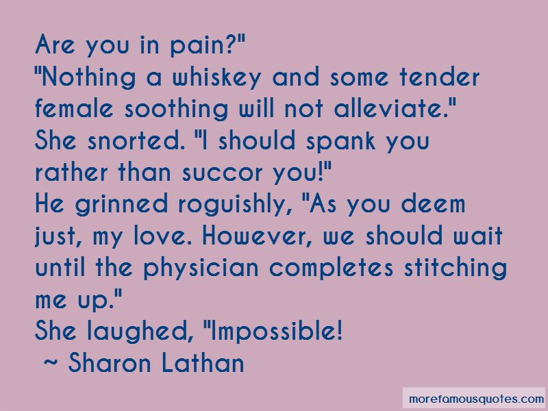 Sharon Lathan Quotes Pictures 3