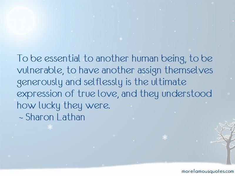 Sharon Lathan Quotes