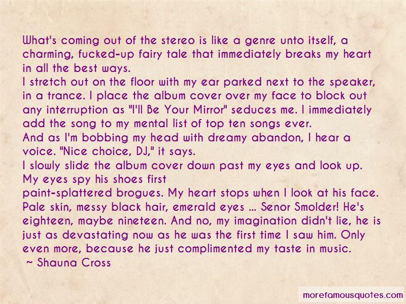 Shauna Cross Quotes
