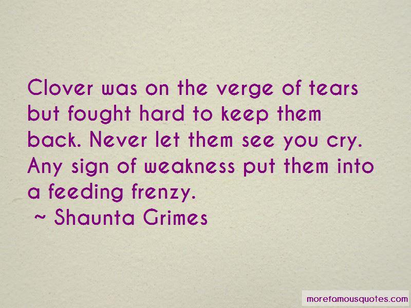 Shaunta Grimes Quotes