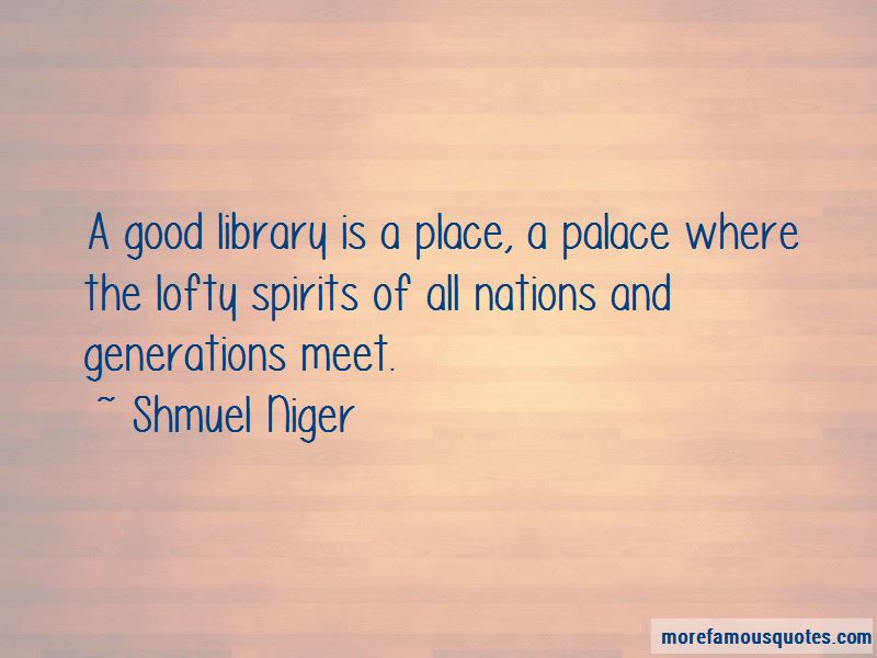 Shmuel Niger Quotes