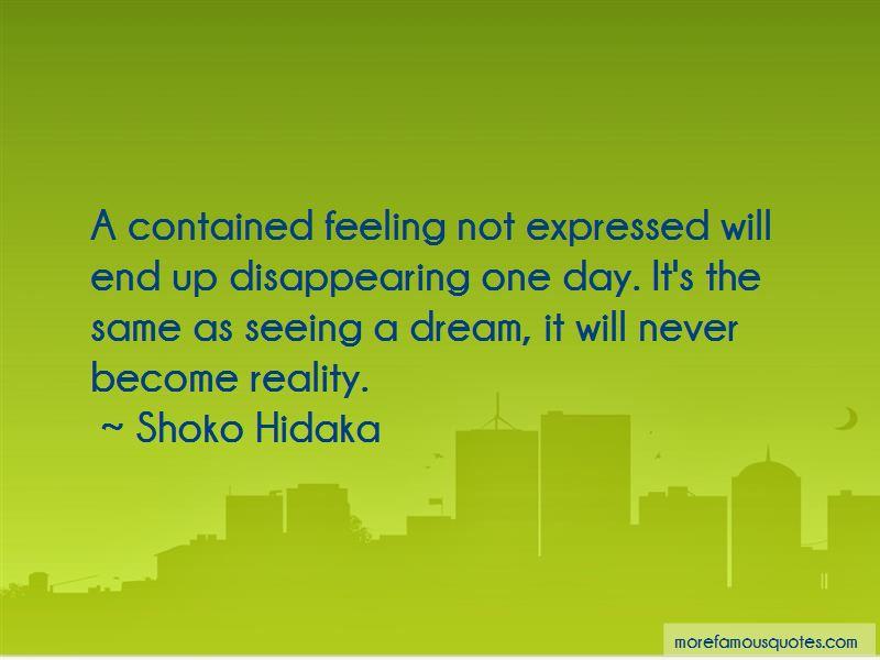 Shoko Hidaka Quotes Pictures 2