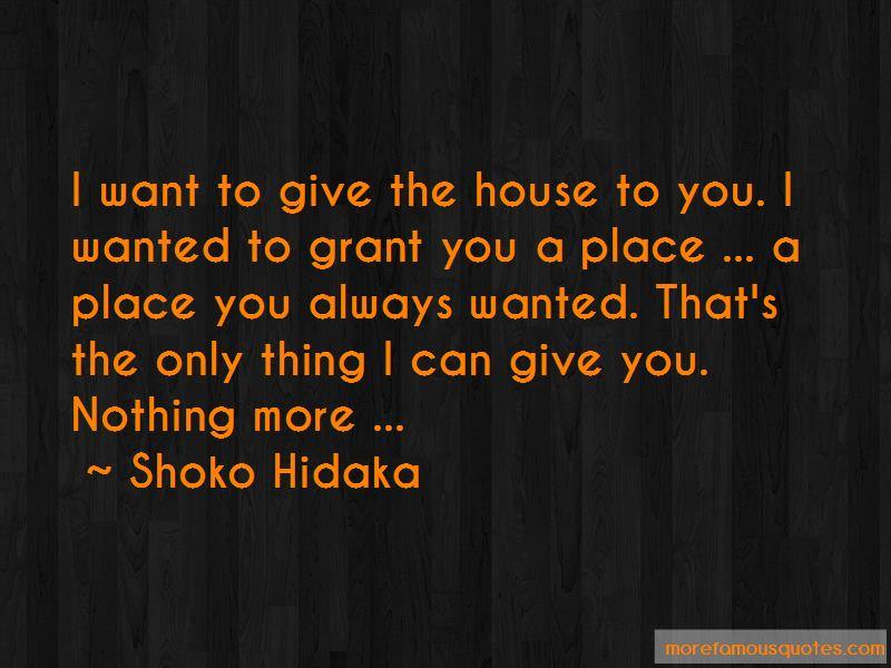 Shoko Hidaka Quotes Pictures 3