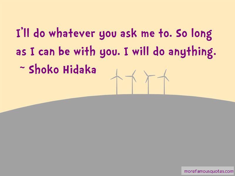 Shoko Hidaka Quotes Pictures 4