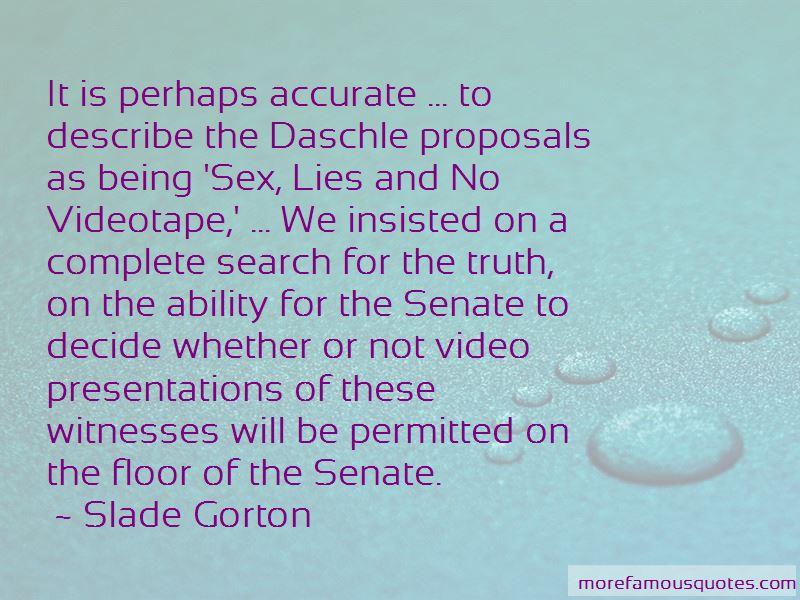 Slade Gorton Quotes