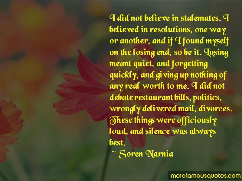 Soren Narnia Quotes