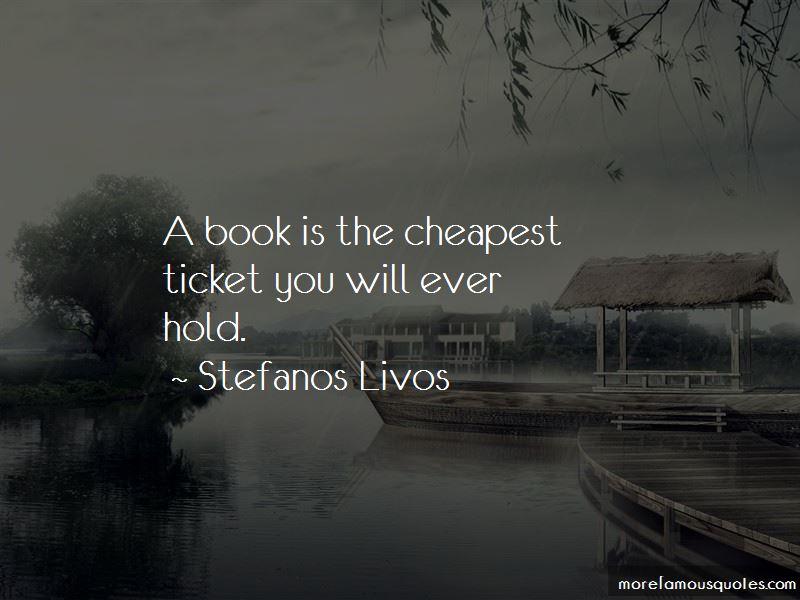 Stefanos Livos Quotes Pictures 4