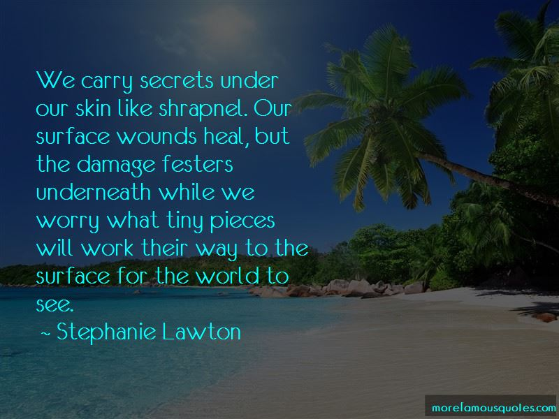Stephanie Lawton Quotes Pictures 2