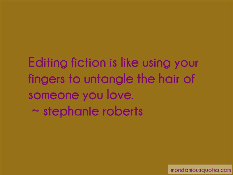 Stephanie Roberts Quotes Pictures 4