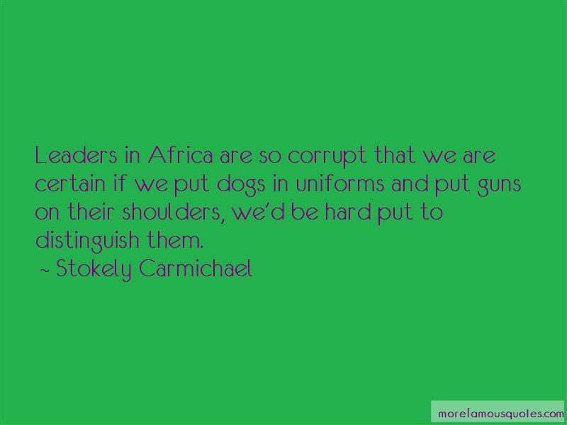 Stokely Carmichael Quotes Pictures 2