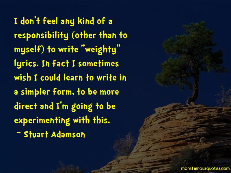 Stuart Adamson Quotes Pictures 3