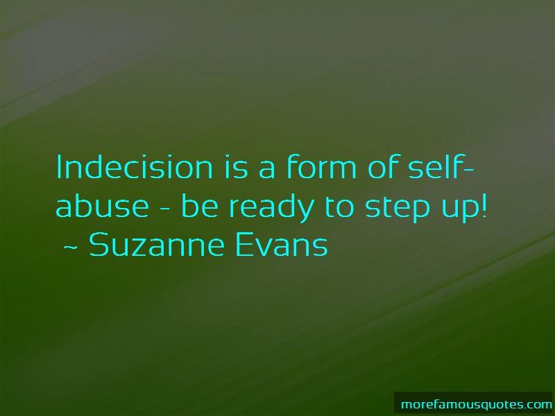 Suzanne Evans Quotes