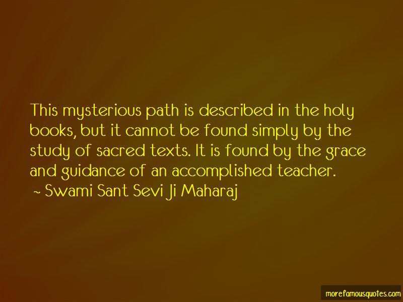 Swami Sant Sevi Ji Maharaj Quotes