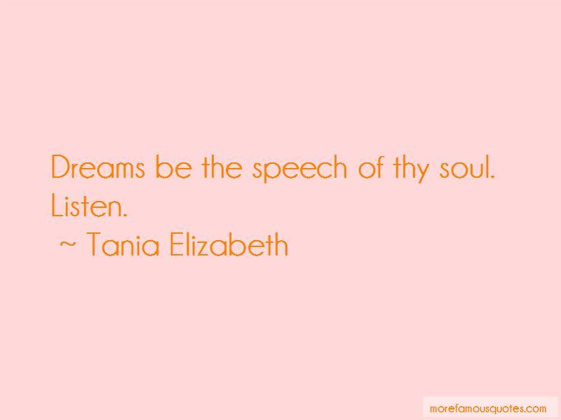 Tania Elizabeth Quotes Pictures 3