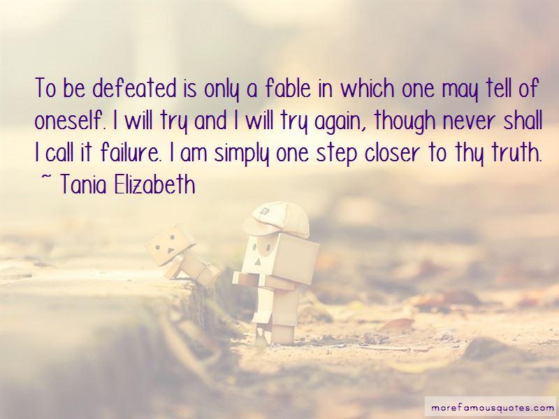 Tania Elizabeth Quotes