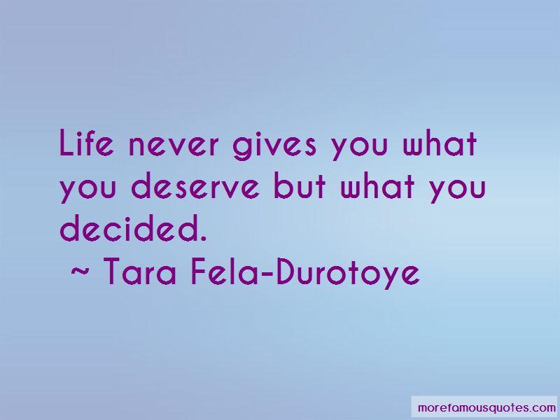 Tara Fela-Durotoye Quotes Pictures 2