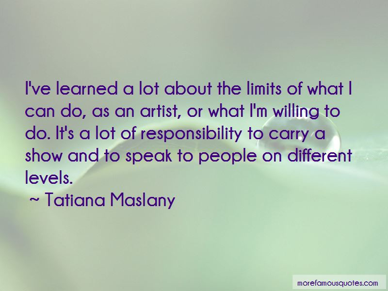 Tatiana Maslany Quotes Pictures 2
