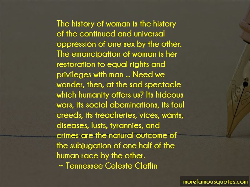 Tennessee Celeste Claflin Quotes Pictures 2