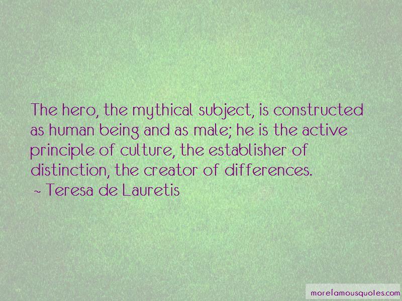 Teresa De Lauretis Quotes Pictures 2