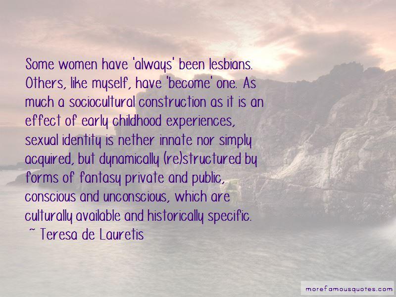 Teresa De Lauretis Quotes Pictures 3