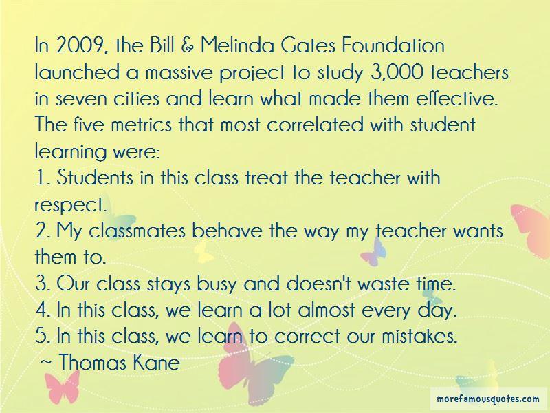 Thomas Kane Quotes