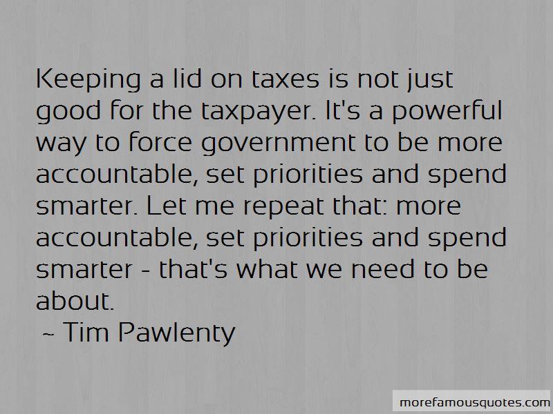 Tim Pawlenty Quotes