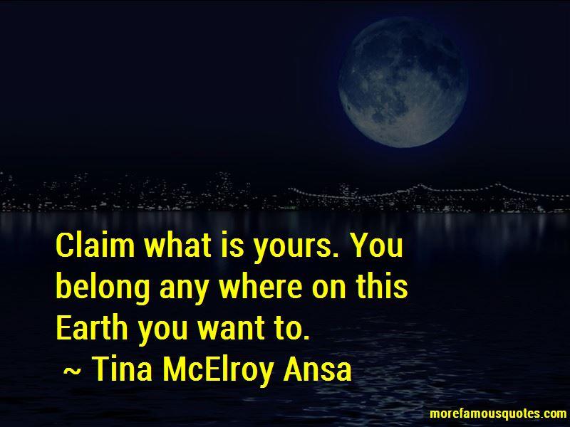 Tina McElroy Ansa Quotes