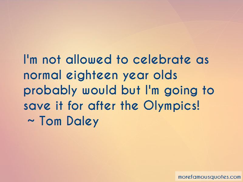 Tom Daley Quotes Pictures 2
