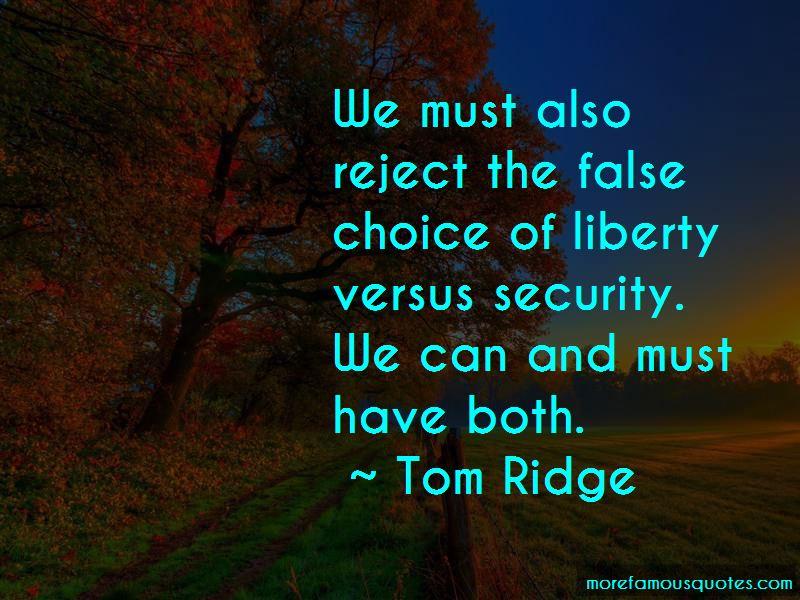 Tom Ridge Quotes Pictures 3