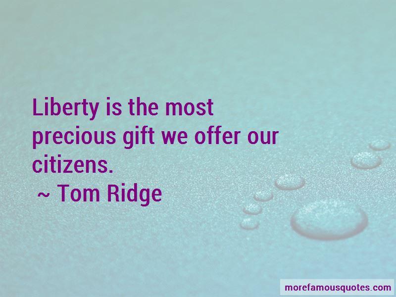 Tom Ridge Quotes Pictures 4