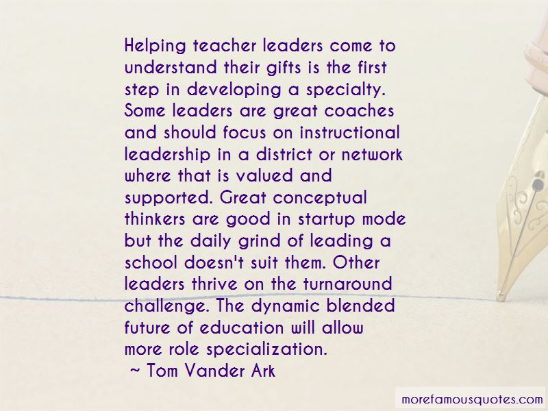 Tom Vander Ark Quotes