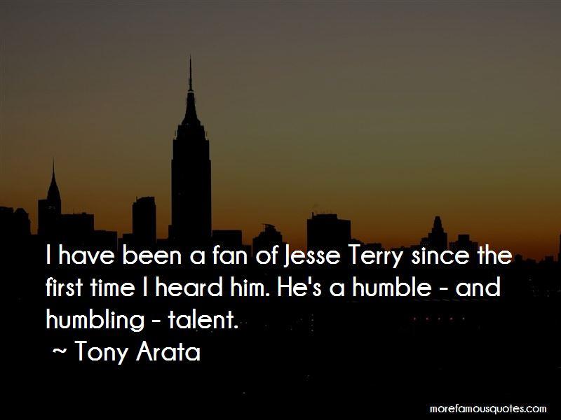 Tony Arata Quotes Pictures 2